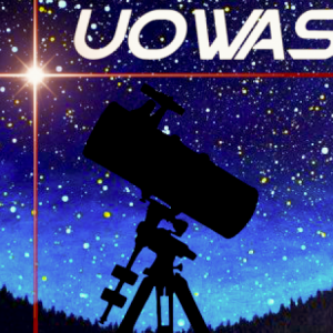 UniClubs - UOW Astronomical Society Logo