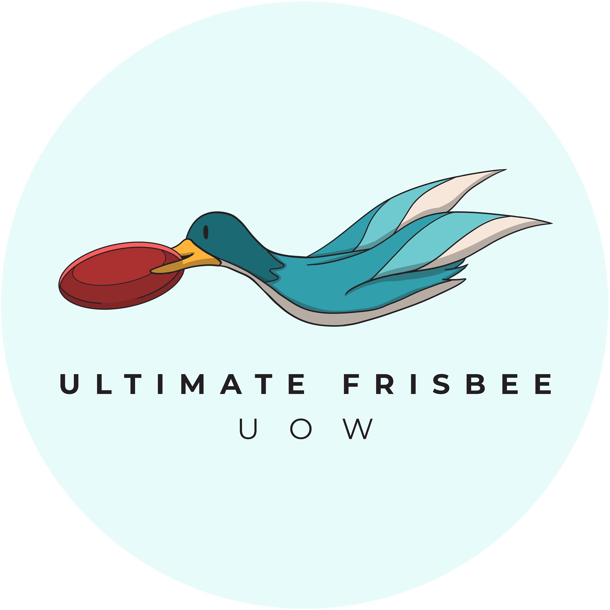 UniClubs - UOW Ultimate Frisbee Club Logo