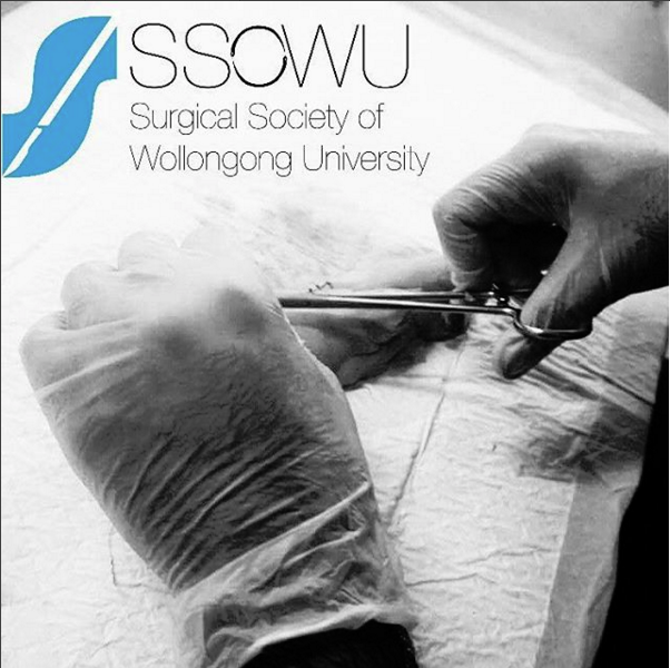 UniClubs - UOW Surgical Society of Wollongong University Logo