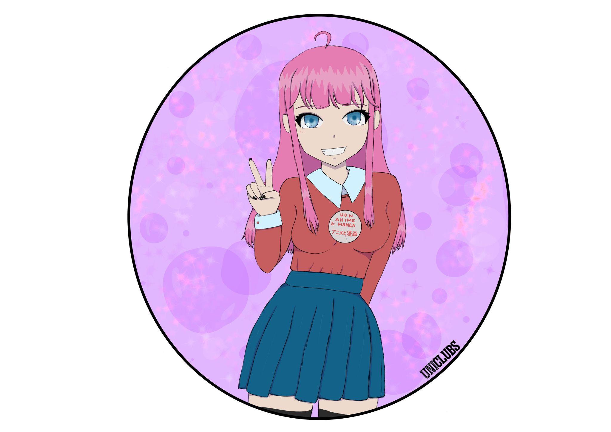 UniClubs - UOW Anime & Manga Club Logo