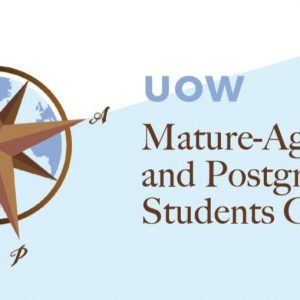 UniClubs - UOW Mature Aged & Postgraduate Students (MAPS) Logo
