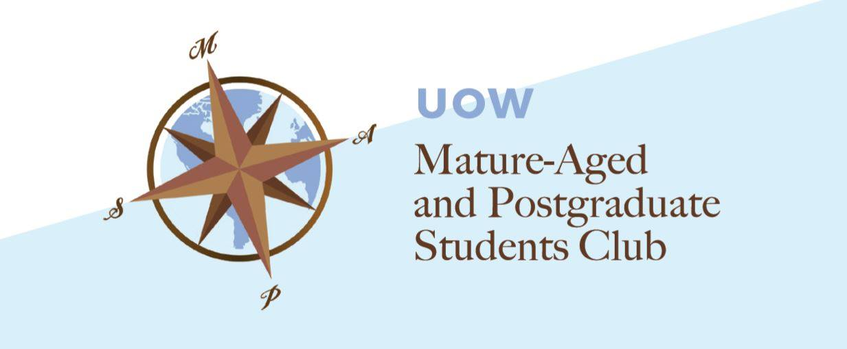 UniClubs - UOW Mature Aged & Postgraduate Students (MAPS) Logo